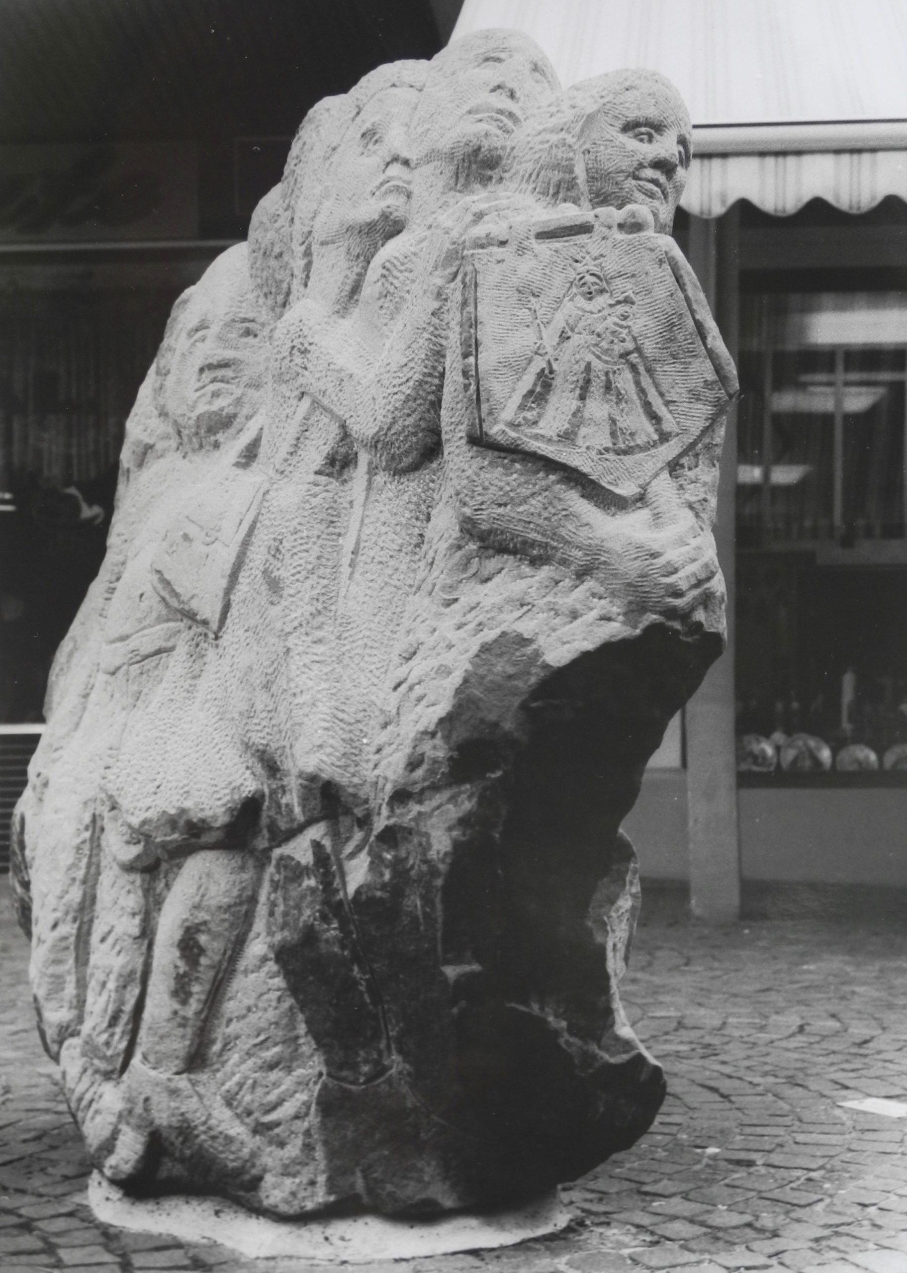 Die Pilgergesellschaft, Kevelaer, Kapellenplatz, Sandstein, 165/110/40, 2002