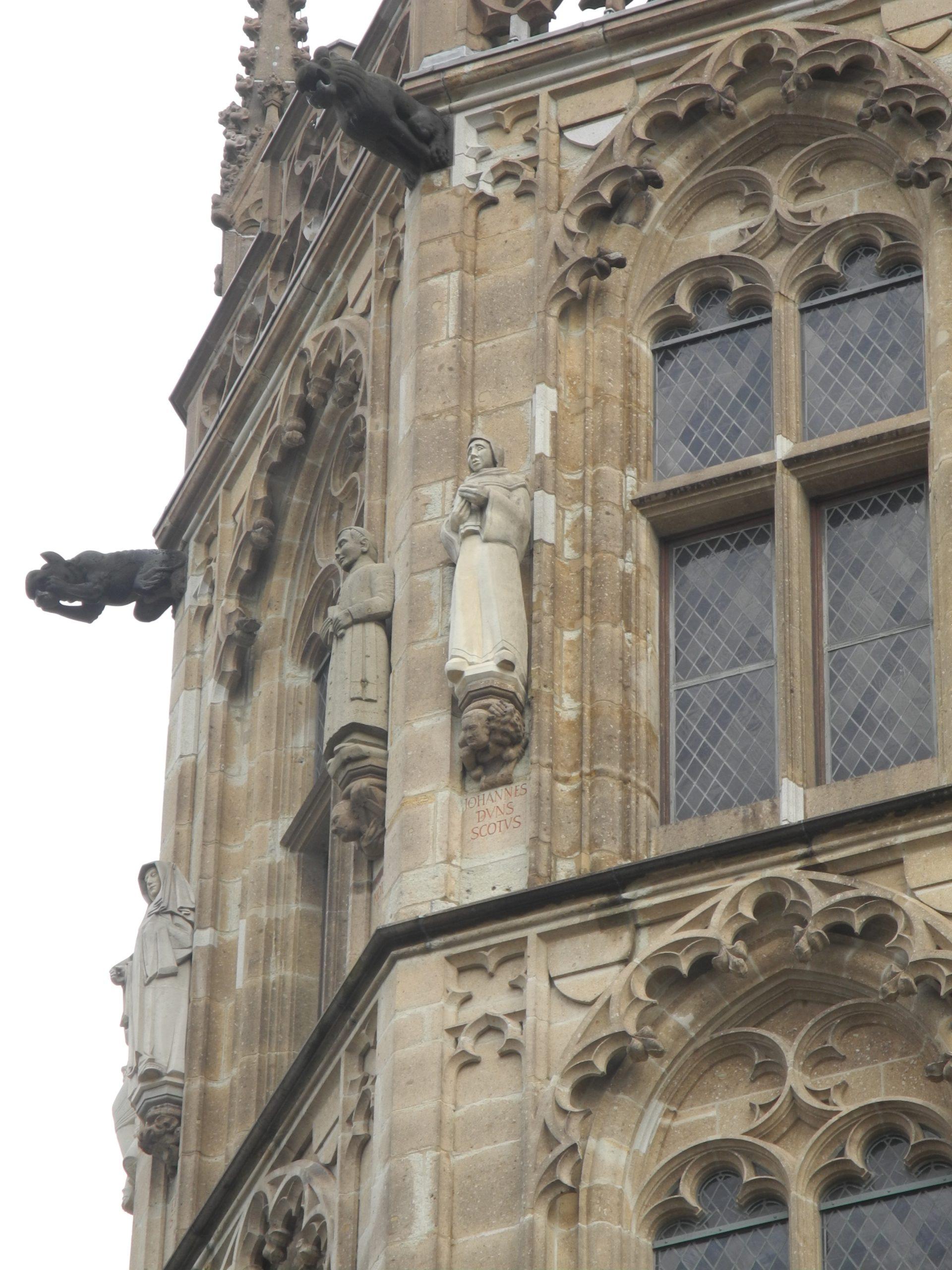 Duns Scotus, Historischer Rathausturm Köln, 2008