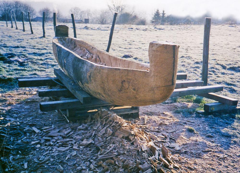 Das Wesen im Holz, Eiche, 440/70/70 , 2001